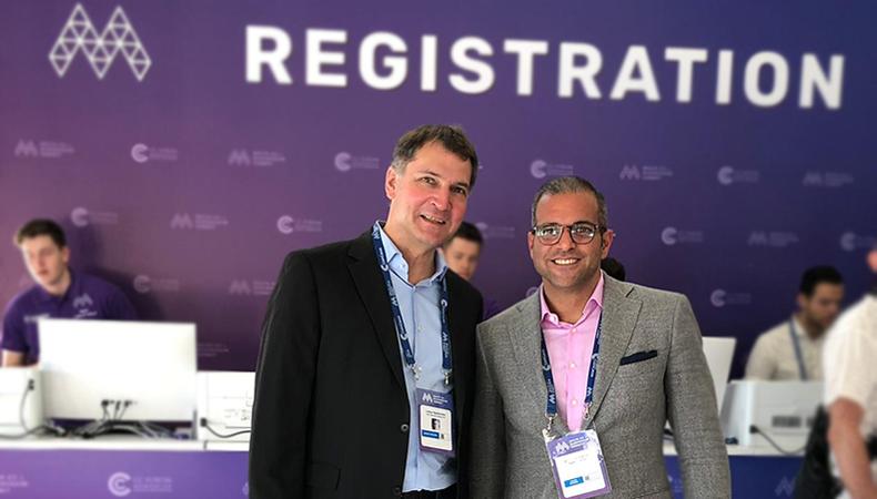 AIBC Summit 2019: CMO Lothar Rentschler und CEO Arman Sarhaddar in Malta