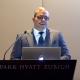 Arman Sarhaddar, CEO and founder of Vault Security Systems AG. Park Hyatt, Zurich.