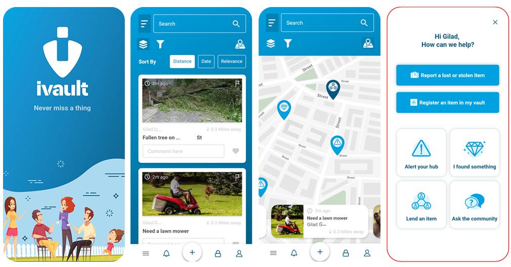 Soziales Netzwerk für Lost & Found und mehr: Was ist ivault und wie funktioniert die ivault App? – ein Überblick über die Hauptfunktionen unserer Blockchain-basierten Anwendung.
