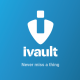 All in one: ivault Blockchain Social Network Lost and Found App – ivault.app logo