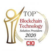 ivault Top 10 Blockchain Technology Solution Providers 2020 recognized by CIO Application.