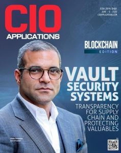Vault Security Systems in the Top 10 Blockchain Technology Solution Providers 2020 – recognized and awarded by CIO Application.