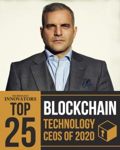 Arman Sarhaddar, Top Blockchain Technology Solution Provider Company's CEO 2020