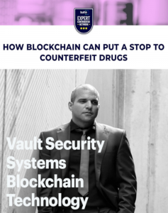 Arman Sarhaddar on How to Stop Counterfeit Drugs with Blockchain Technology, builtin Expert Contributors Network
