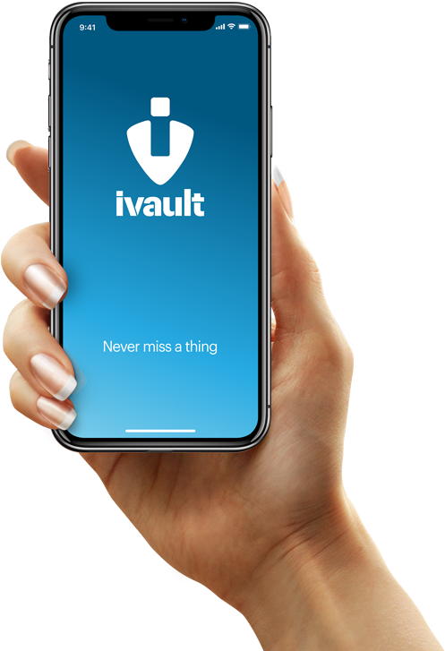 Never miss a thing with ivault App Lost & Found Blockchain-based Social Network