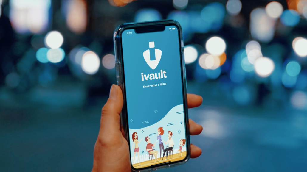 What is ivault and how does the ivault App work as a Social Network with its basic Lost & Found Platform to find lost items and help others.